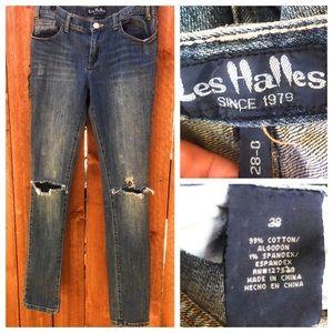 Les Halles Destroyed Jeans